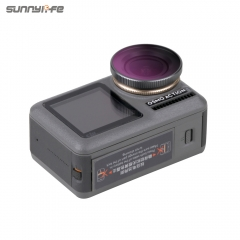 Sunnylife Adjustable ND/PL CPL Lens Filter Diving Filters for DJI OSMO Action Sport Camera