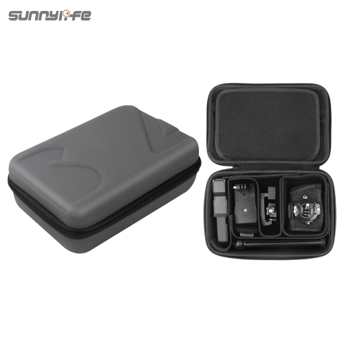 Sunnylife Portable Protective Storage Bag DIY Carrying Case for DJI OSMO POCKET OSMO MOBILE 3 GoPro 8 MAX