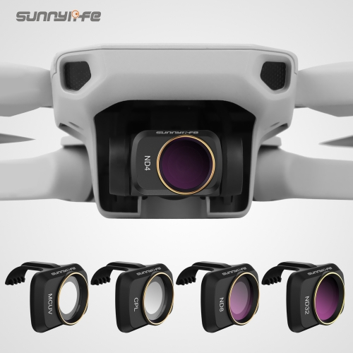Sunnylife Camera Lens Filter MCUV ND4 ND8 ND16 ND32 CPL ND/PL Filters for Mavic Mini
