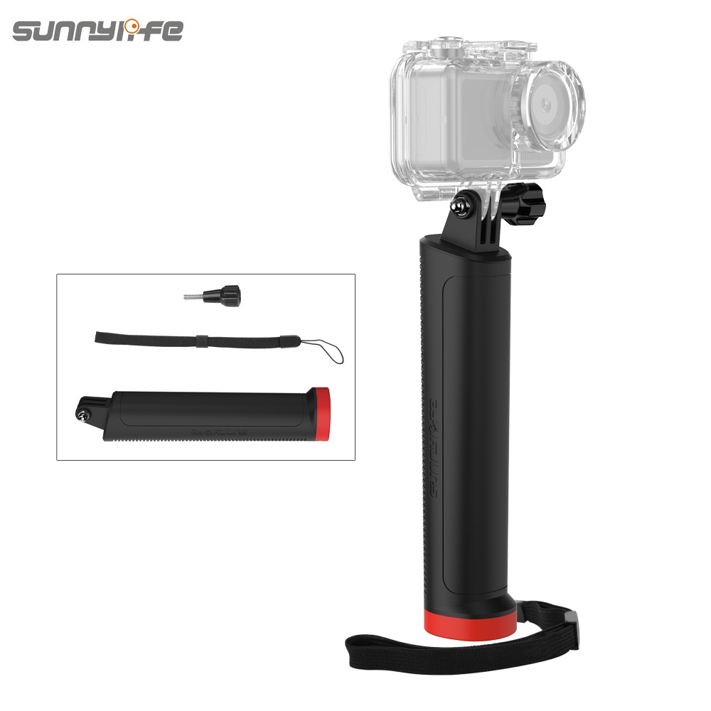 Universal Floating Bar Sports Camera Handheld Buoyancy Bar Underwater Shooting Accessories for GoPro 8 Osmo Action Osmo Pocket