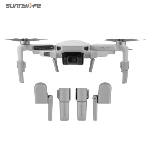 Sunnylife Heightening Landing Gears Foldable Support Leg Stabilizers Protector for Mavic Mini