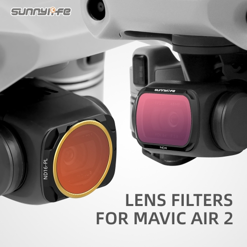 Sunnylife Lens Filter MCUV Adjustable CPL ND/PL Filters ND16 ND32 ND4-PL ND8-PL for Mavic Air 2