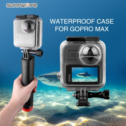 40 Meters Waterproof Case Protective Underwater Housing Case Diving Shell for GoPro Max