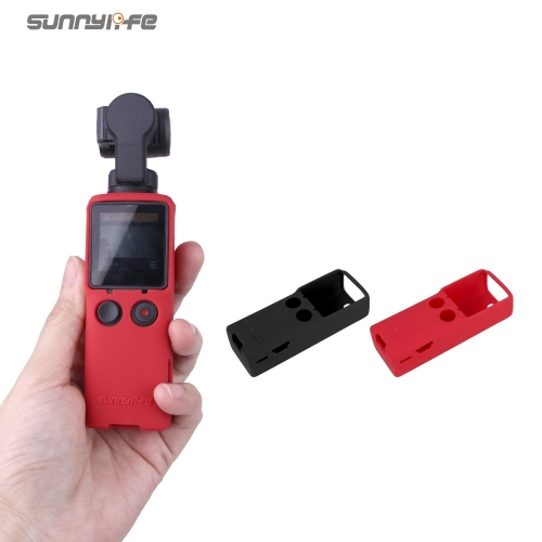 Sunnylife Silicone Protective Case Cover Lanyard Wristband Accessories for FIMI PALM Gimbal Camera