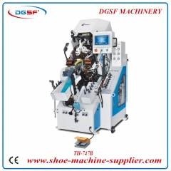 7 Pincers Computerized Automatic Shoe Toe Lasting Machine