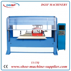 Vision Positioning Single Head Double Die Cutting Machine LX-125Q