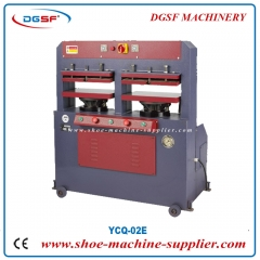 Electric hydraulic welt heels press fit machine gantry type YCQ-02E