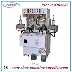 Double cold and double hot toe molding machine HZ-568