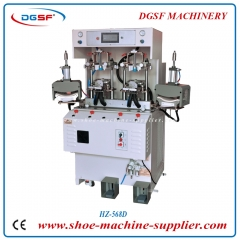 Double cold and double hot toe molding machine HZ-568D