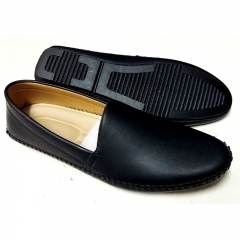 Shoe Company Wholesale Men's Stitching Round toe soft Moccasin shoes