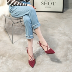 Footwear Manufacturer wholesale Womens Craving Pointed toe Lace Up Shoes