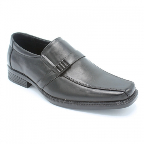 Men Shoes Wholesale Mens Slip-on Square toe PU Leather Dress shoes
