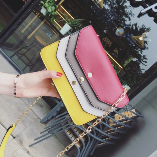 Clutch bags Detachable Strap Magnetic buckle Colorful handbags Wholesales