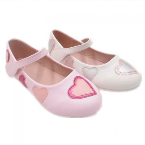 Wholesale Girls' Pearl Bunny Flower baby shoe Patent Kids School Shoes