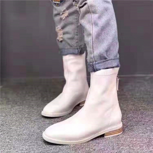 Manufacturing Riding Bootie Squared toe wearable Calf boots Women's Casual Europe Ankle boots