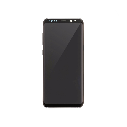 For Samsung Galaxy S8 Plus OLED Display and Touch Screen Digitizer Assembly With Frame Replacement - Black - OLED