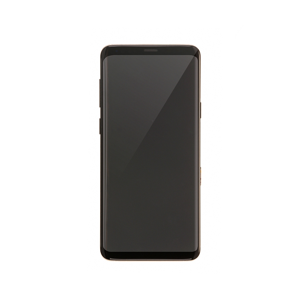 For Samsung Galaxy S9 Plus OLED Display and Touch Screen Digitizer Assembly with Frame Replacement - Black - OLED