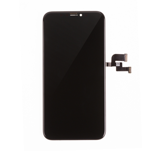 For Apple iPhone X LCD Display and Touch Screen Digitizer Assembly with Frame Replacement - Black - AMOLED