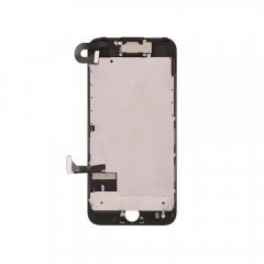 For Apple iPhone 7 LCD Screen and Digitizer Assembly with Frame and Small Parts Replacement (Without Home Button) - Black - Ori