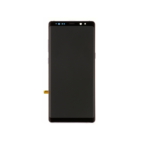 For Samsung Galaxy Note8 OLED Display and Touch Screen Digitizer Assembly With Frame Replacement - Purple -Ori