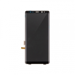 For Samsung Galaxy Note 8 OLED Display and Touch Screen Digitizer Assembly With Frame Replacement - Black - Ori