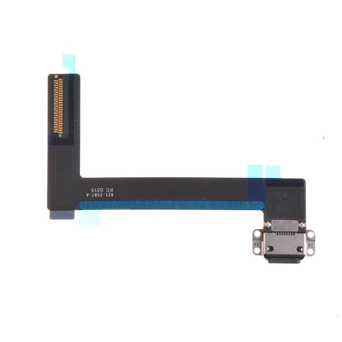For Apple iPad Air 2 Charging Port Flex Cable Replacement - Black - Ori