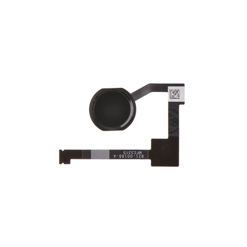 For Apple iPad Air 2 Home Button With Flex Cable Assembly Replacement - Black - Ori