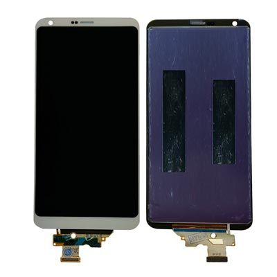 For LG G6 Replacement LCD Display Touch Screen Glass Digitizer Assembly-White-Ori