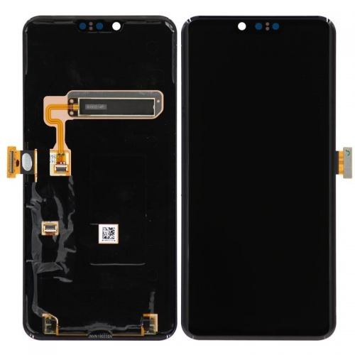 For LG G8 ThinQ Replacement LCD Display Touch Screen Glass Digitizer Assembly-Black-Ori