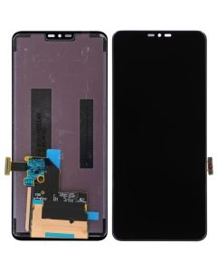 For LG G7 Replacement LCD Display Touch Screen Glass Digitizer Assembly-Black-Ori