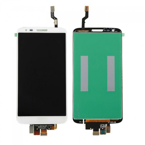 For LG G2 Replacement LCD Display Touch Screen Glass Digitizer Assembly-White-Ori