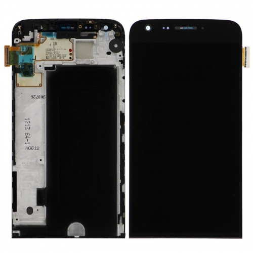 For LG G5 LCD Display Touch Screen Glass Digitizer Housing Assembly-Black-Ori