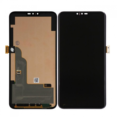 For LGLG V40 / LG V50 ThinQ LCD Display Touch Screen Glass Digitizer Assembly-Black-High-Co