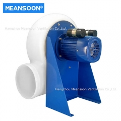 MPCF-2S250 Plastic chemical ventilating fan for fume extraction processes