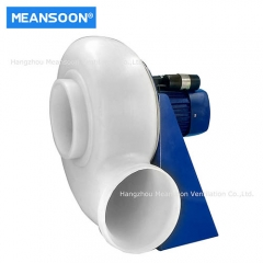 Plastic anti-corrosion exhaust fan