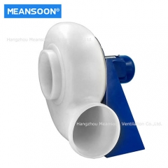 Plastic laboratory centrifugal fan