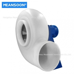 Circular Plastic Corrosion Resistant Centrifugal Blower for Exhaust Ventilation