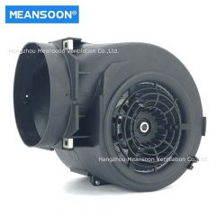Plastic smoke exhaust centrifugal blower for kitchen extractor