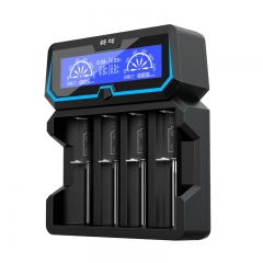 XTAR X4 LCD Fast Charger For Li-ion/ Ni-MH Battery