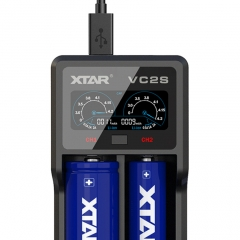 XTAR VC2S Li-ion/NiMH Battery Charger
