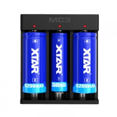 XTAR MC3 Li-ion Battery Charger