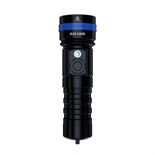 XTAR D26 1600lm Diving Flashlight