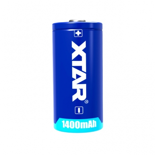 CR123A 1400mAh Non-Rechargeable Battery