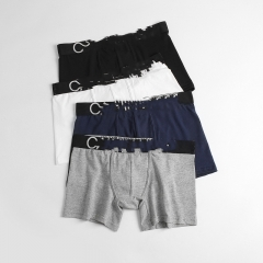 YC3961 Male Panties Sexy Underwear Men's Boxers Top Quality Modal Black Underwear Shorts Men Boxer