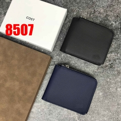 8507   man's wallet genuine leather