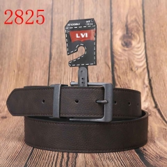 2825  unisex wear belts gold buckle