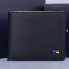 2834 black/blue wallet