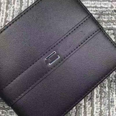 2837 man wallet genuine leather