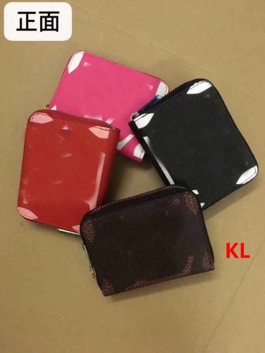 MY0023  women pu wallet