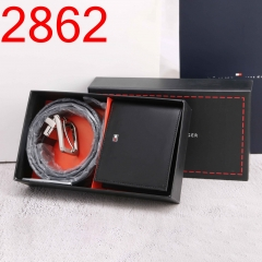 2862  man belt + walt coin wallet